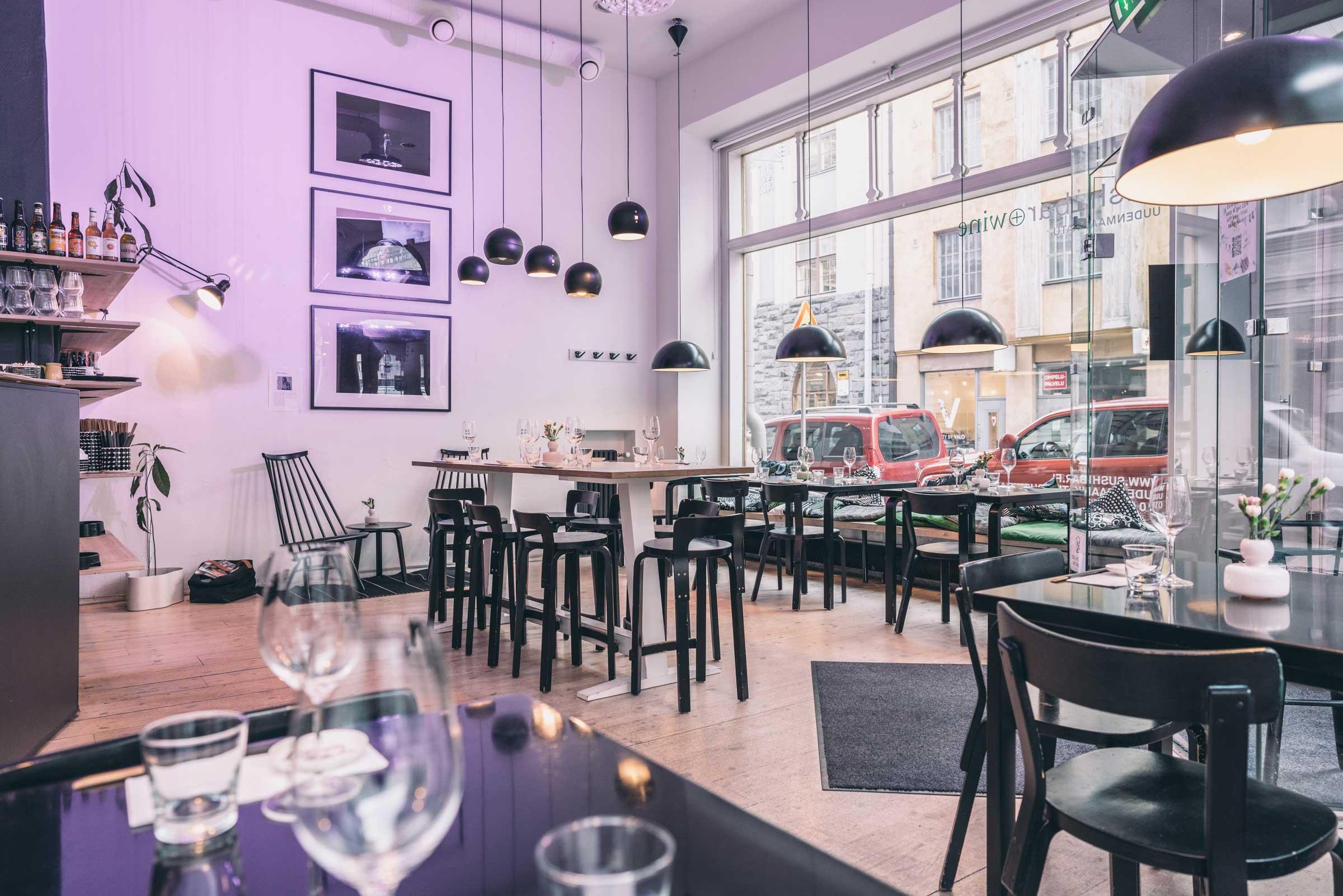 Uudenmaankatu-Helsinki-Sushibar+wine
