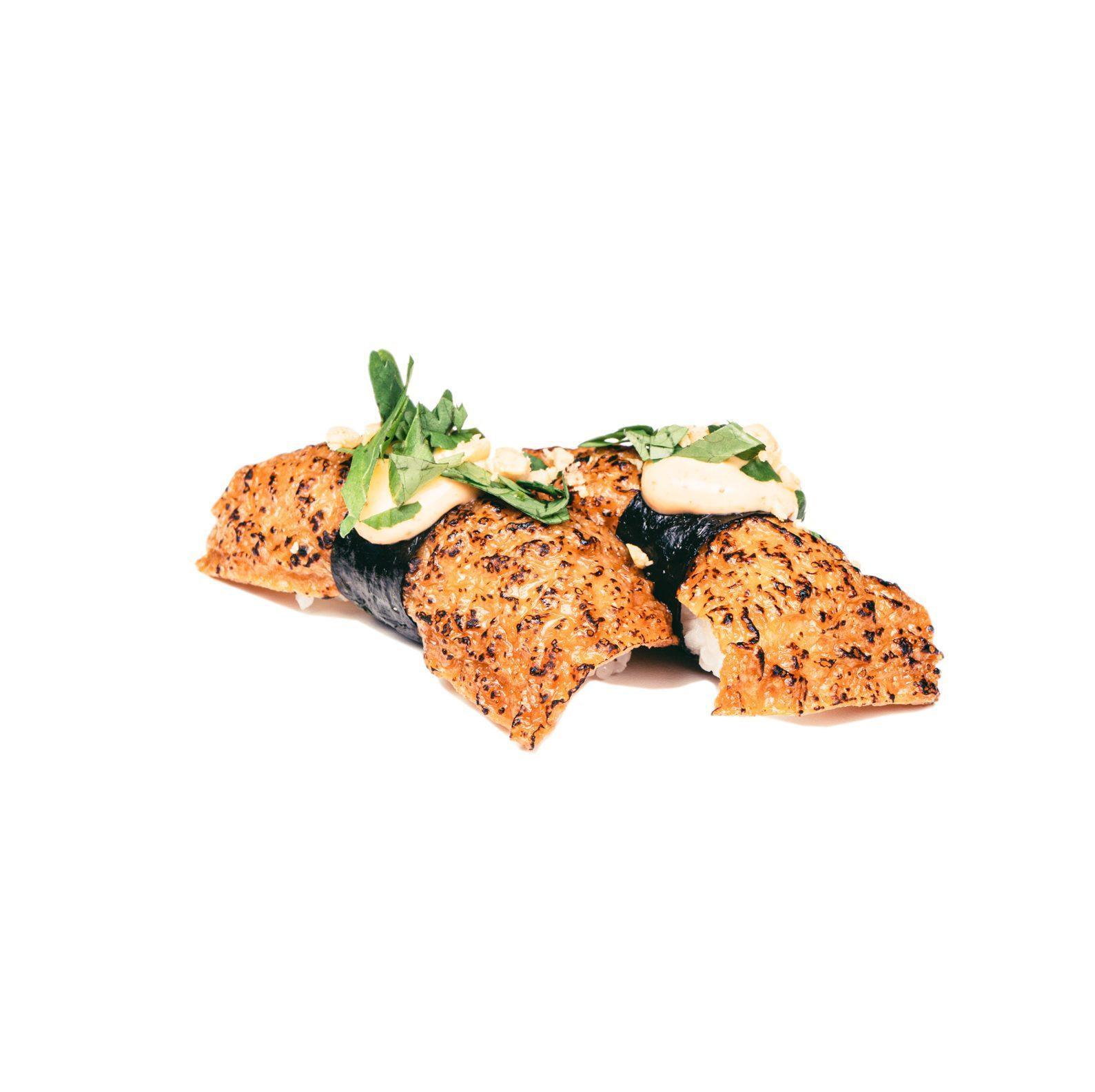 spicy inari nigiri